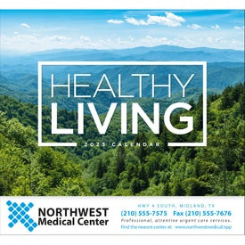 Healthy Living Stapled Calendar for Your Church