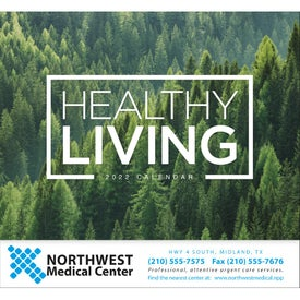 Healthy Living Stapled Calendar (2017)