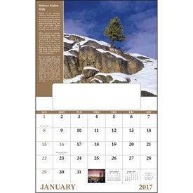 Branded Healthy Living Window Calendar