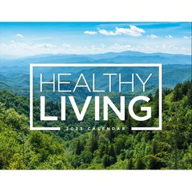 Healthy Living Window Calendar (2021)