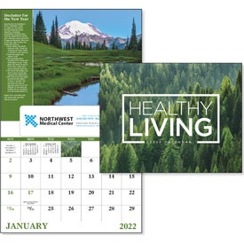 Healthy Living Window Calendar (2017)