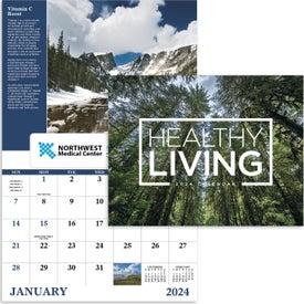 Advertising Healthy Living Window Calendar