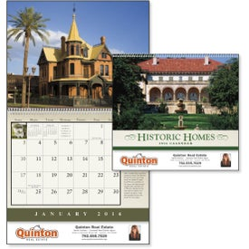 Historic American Homes Wall Calendar for your School