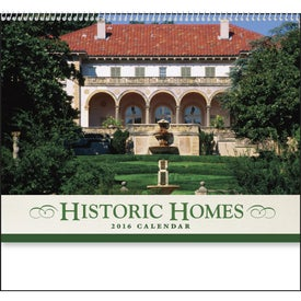 Personalized Historic American Homes Wall Calendar