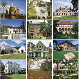 Company Historic American Homes Wall Calendar