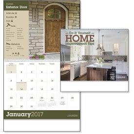 Monogrammed Home Improvement Tips - Calendar