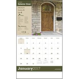 Advertising Home Improvement Tips - Calendar
