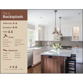 Home Improvement Tips - Calendar for Advertising