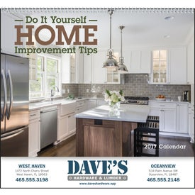 Logo Home Improvement Tips - Calendar