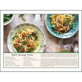 Home Recipes Calendar Imprinted with Your Logo