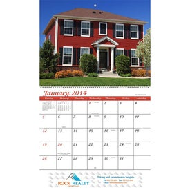 Customized Homes Wall Calendar