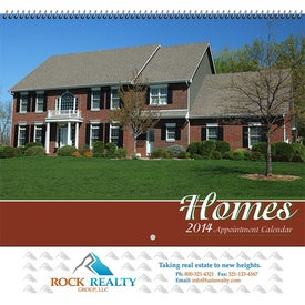 Custom Homes Wall Calendar