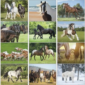 Promotional Horses 12 Month Appointment Calendar