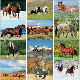 Horses 12 Month Appointment Calendar for Your Organization