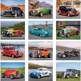 Hot Rods Wall Calendar for Your Organization