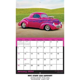 Advertising Hot Rods Wall Calendar