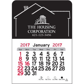 House Vinyl Adhesive Calendar for Promotion