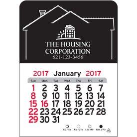 House Vinyl Adhesive Calendar for Promotion