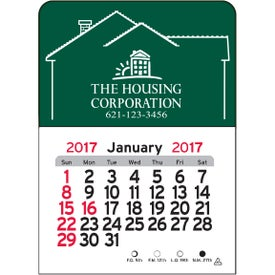 Company House Vinyl Adhesive Calendar