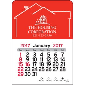 House Vinyl Adhesive Calendar for Advertising