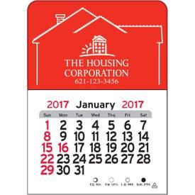 House Vinyl Adhesive Calendar for Advertising