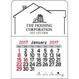 Branded House Vinyl Adhesive Calendar