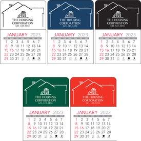 House Vinyl Adhesive Calendar Giveaways