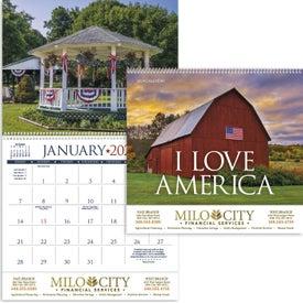 I Love America Calendar (2021)