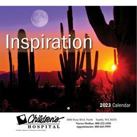 Inspiration Wall Calendar (Stapled)