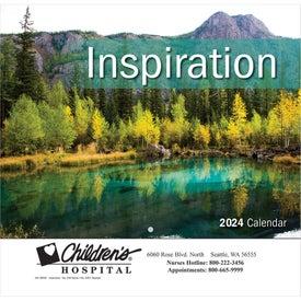 Inspiration Wall Calendar (Stapled)
