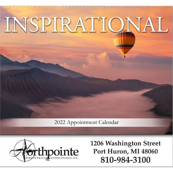 See Item Inspirational Wall Calendar
