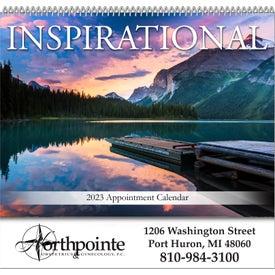 Inspirations Spiral Bound Calendar for Marketing