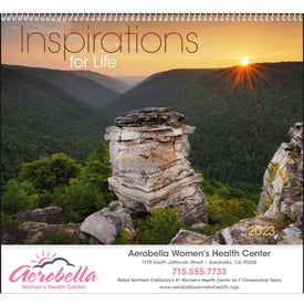 Personalized Inspirations for Life Spiral Calendar