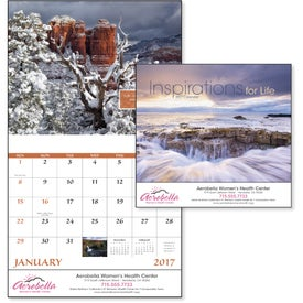 Personalized Inspirations for Life Stapled Calendar