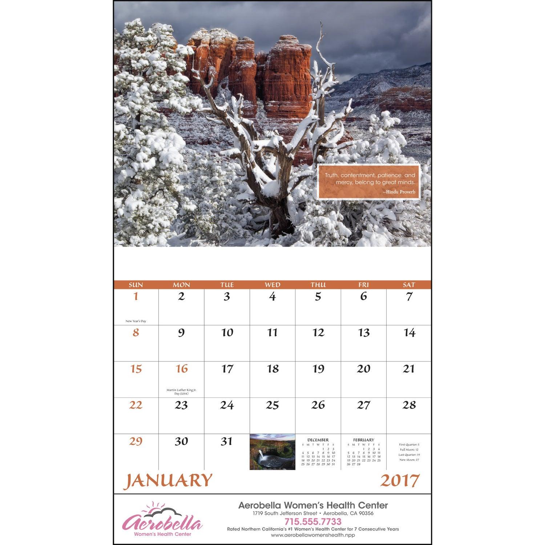 Calendar Inspirations : Inspirations for life stapled calendar custom