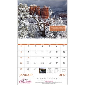 Promotional Inspirations for Life Stapled Calendar