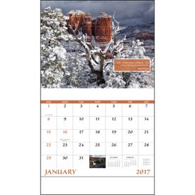 Printed Inspirations for Life Stapled Calendar