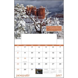 Inspirations for Life Window Calendar for Your Company