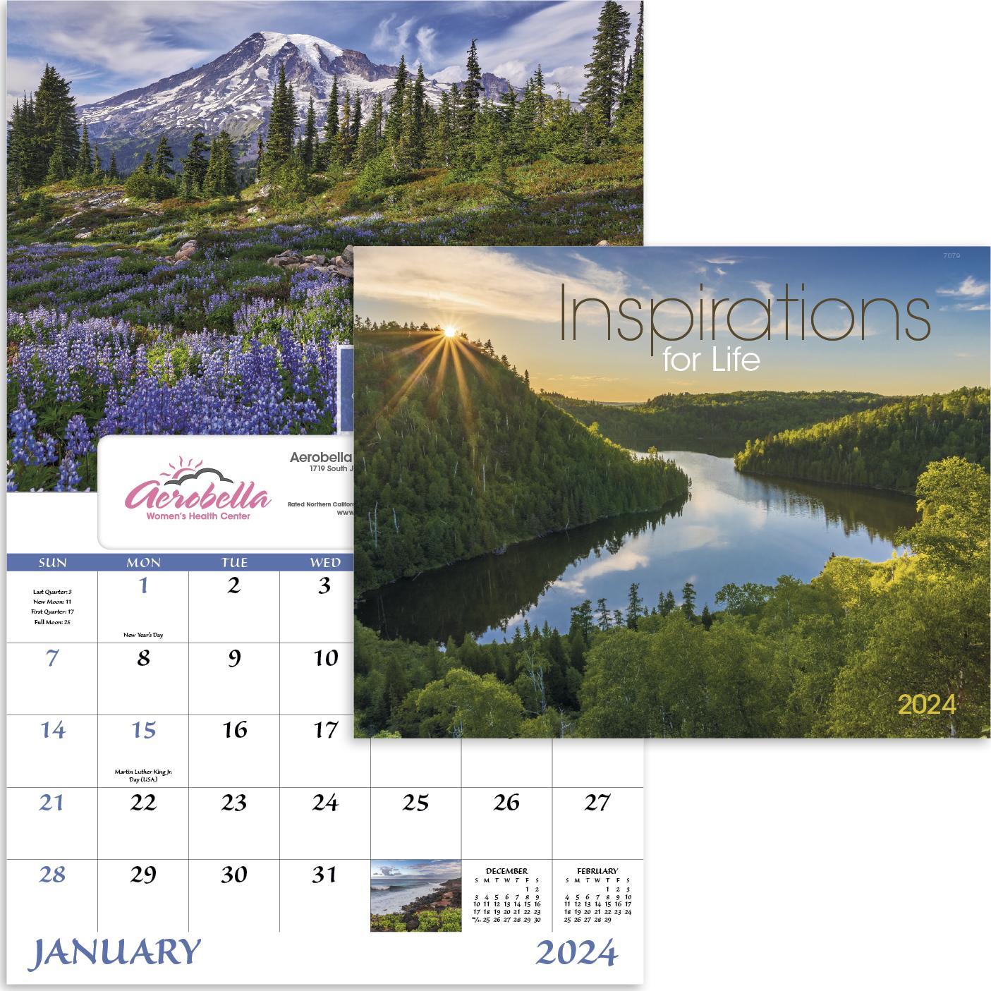 Inspirations for Life Window Calendar (2020)