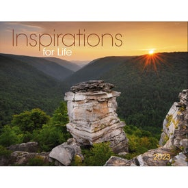 Inspirations for Life Window Calendar with Your Logo