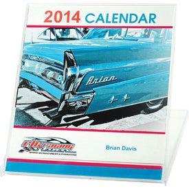 Monogrammed Jewel Case Calendar