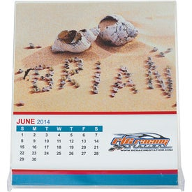 Jewel Case Calendar for Marketing