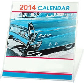 Advertising Jewel Case Calendar