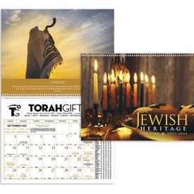 Promotional Jewish Heritage Executive Calendar