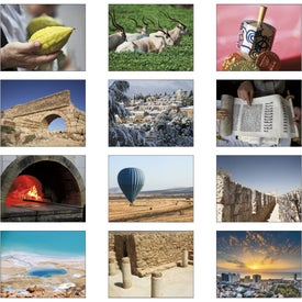 Jewish Life Spiral Calendar for Advertising