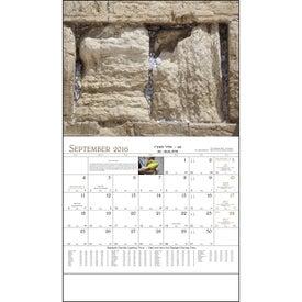 Printed Jewish Life Stapled Calendar