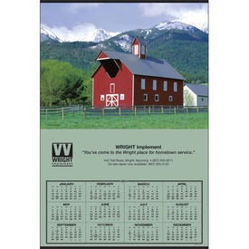 Jumbo Hanger Calendar for Promotion