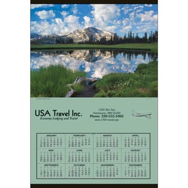 Jumbo Hanger Calendar Printed with Your Logo