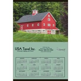 Jumbo Hanger Calendar with Your Logo
