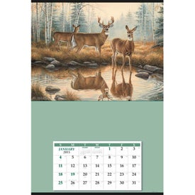 Jumbo Hanger Calendar for Advertising